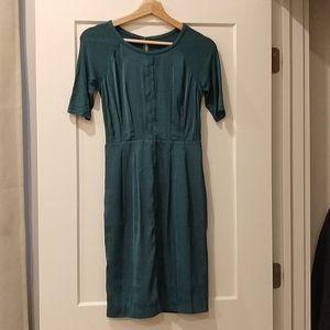BCBG green dress